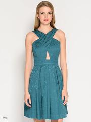 Продам платье изумрудного цвета 46 размера